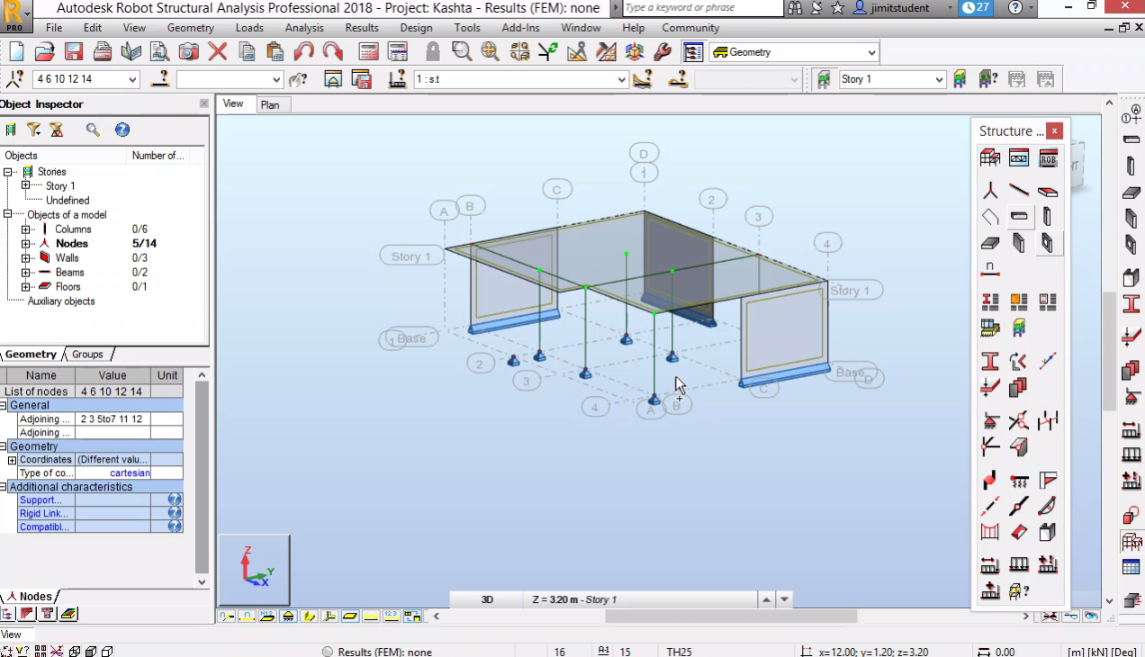 СТБ конструкция - геометрия, натоварване и размножаване по нива