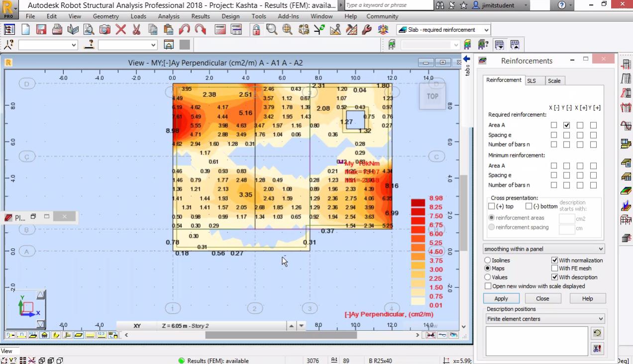 СТБ конструкция - оразмеряване на плоча