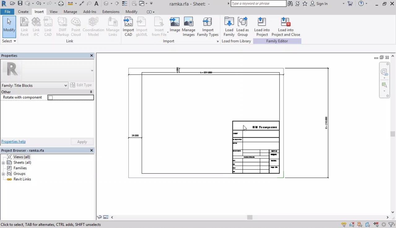 Моделиране на терен. Създаване на рамка за чертеж. Импорт на DWG