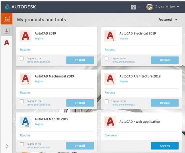 Инсталиране на Specialized Toolsets в AutoCAD 2019