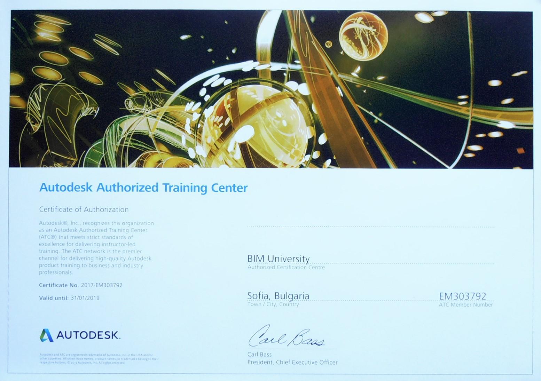 ATC сертификат