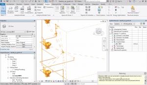 Подготовка за несвързани елементи и грешки в модела. Обединяване на системите