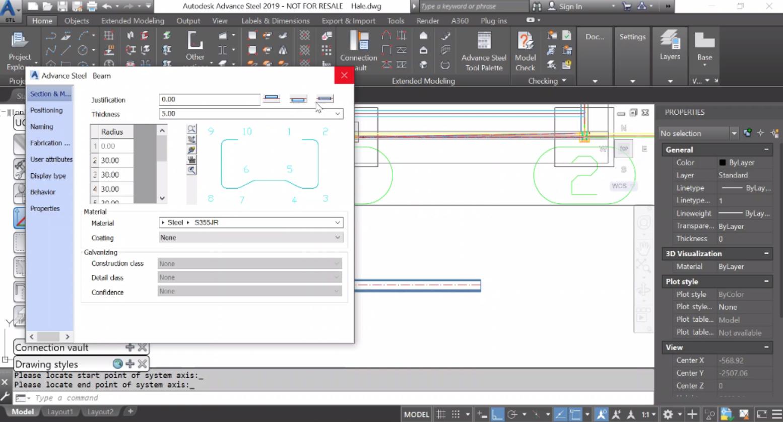 Допълнително - парапети, потребителски съединения, user parts, огънати планки, покрития (панели)